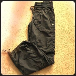 Lululemon dance studio pants lined